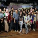 Usai voice training bersama para calon presenter & reporter LSPR TV.